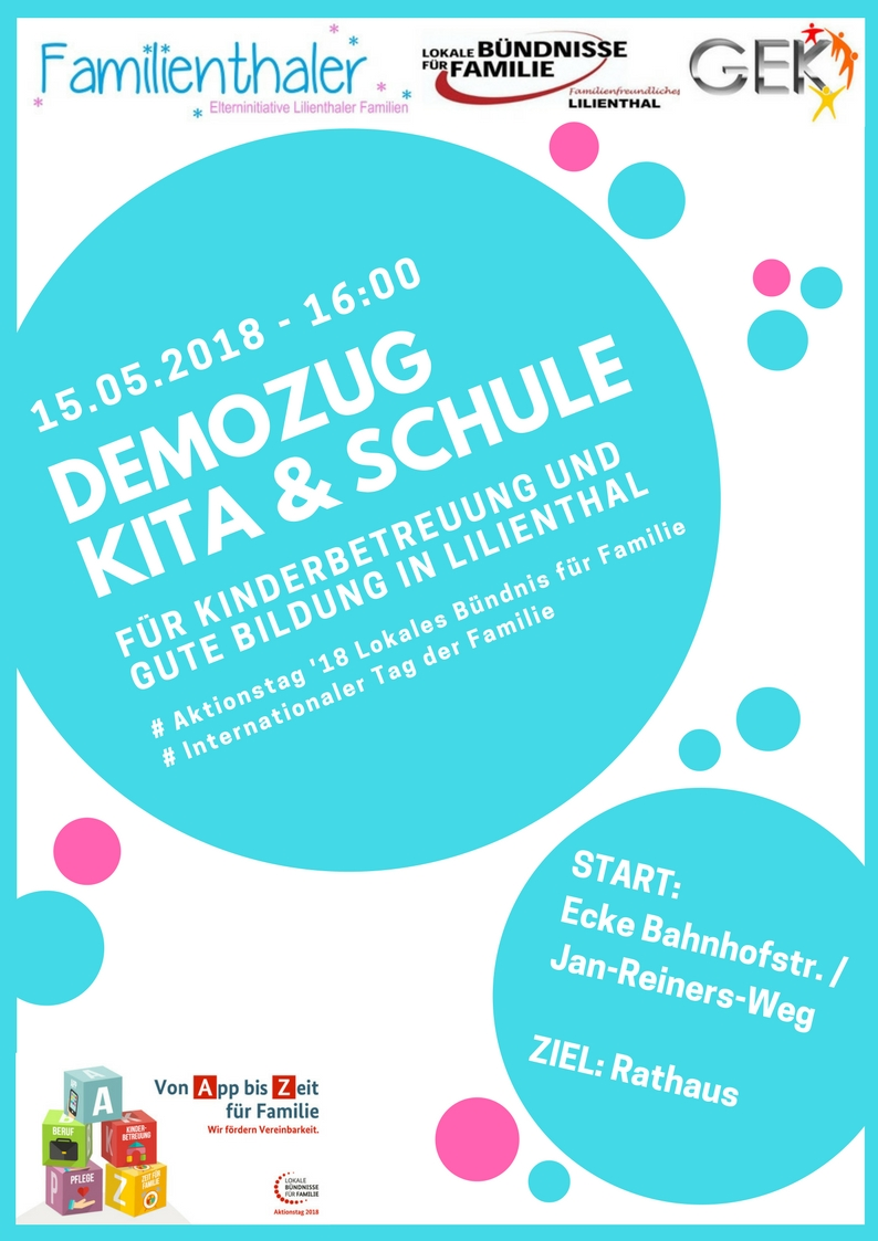 Flyer Demozug